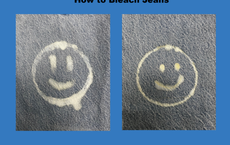 Bleaching jeans and creating fun designs on them is very simple and easy.