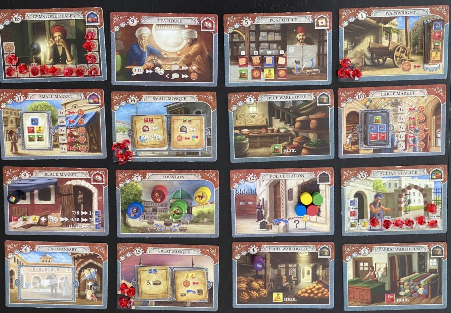 Istanbul+is+set+up+and+ready+to+play.++The+tiles+don%27t+have+too+many+symbols%2C+so+the+board+is+not+busy.++In+addition%2C+the+overview+cards+are+very+clear.++The+only+issue+with+the+components+is+that+some+of+the+wooden+pieces+came+chipped.