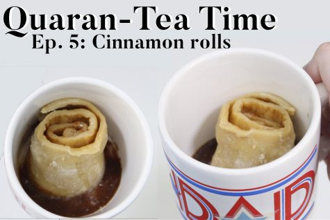Quaran-Tea Time Ep. 5: Cinnamon rolls
