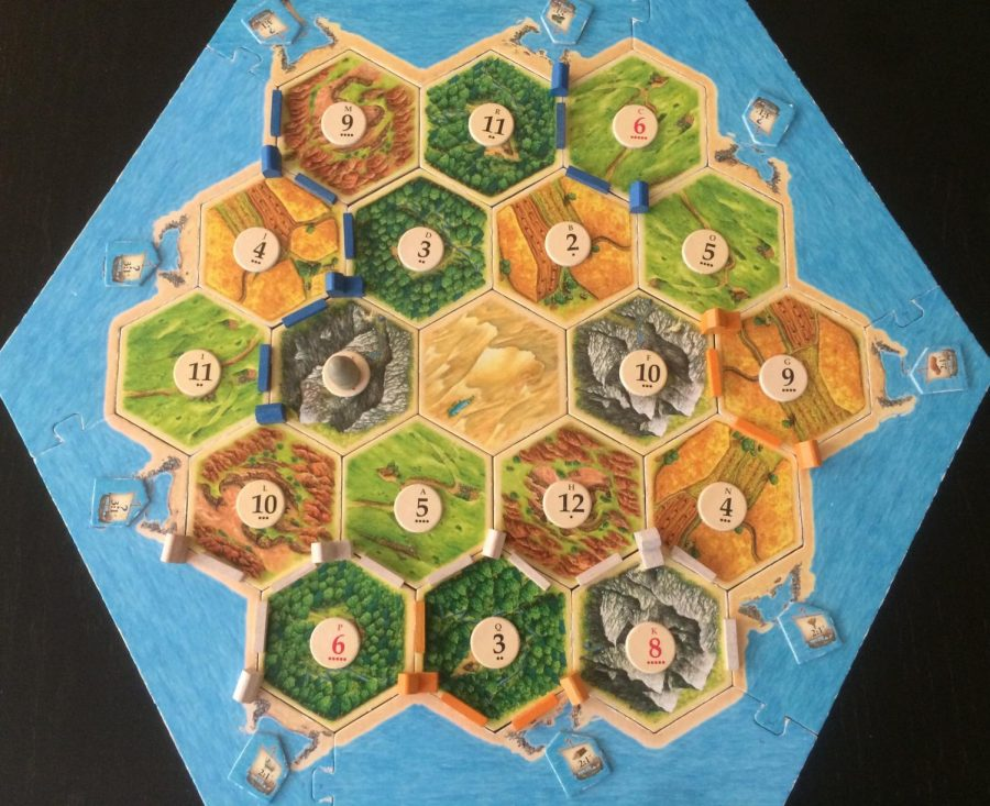 Board Game Reviews: The Settlers of Catan