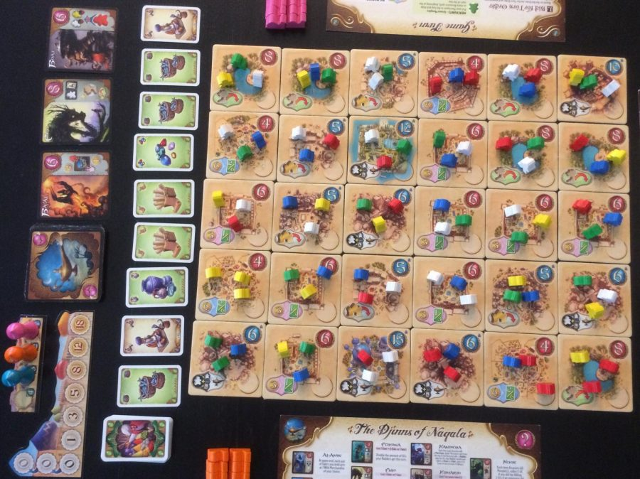 Board Game Reviews: Five Tribes