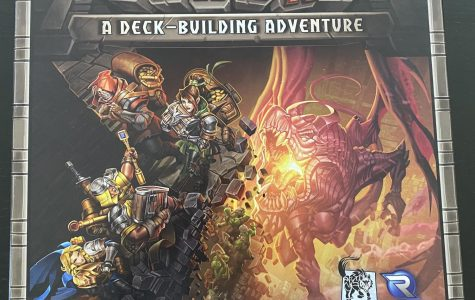 The box cover for Clank looks great and previews the game theme.