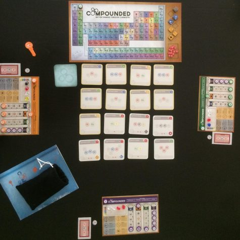 Compounded set up for three players.