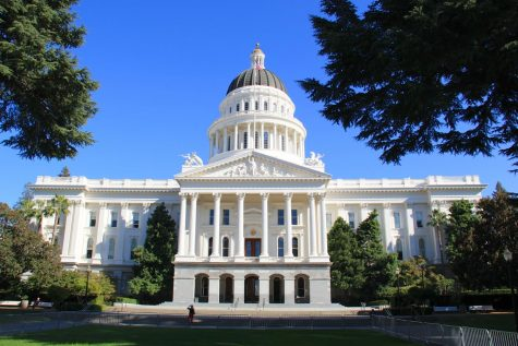 The State Senate and Assembly convene at the California State Capitol in Sacramento to work on legislation.