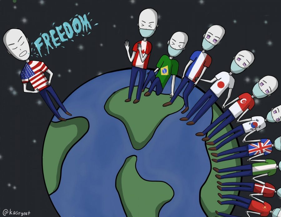 Cartoon: Masking Ignorance as 'Freedom'