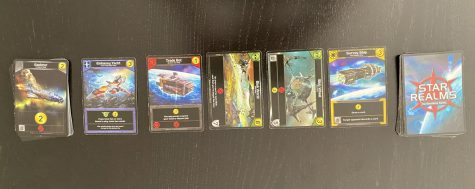 Star Realms is a game published by White Wizard Games. It was designed by Rob Dougherty and Darwin Kastle.