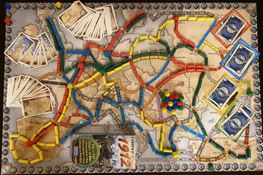 Board Game Reviews: Ticket to Ride Europe 1912