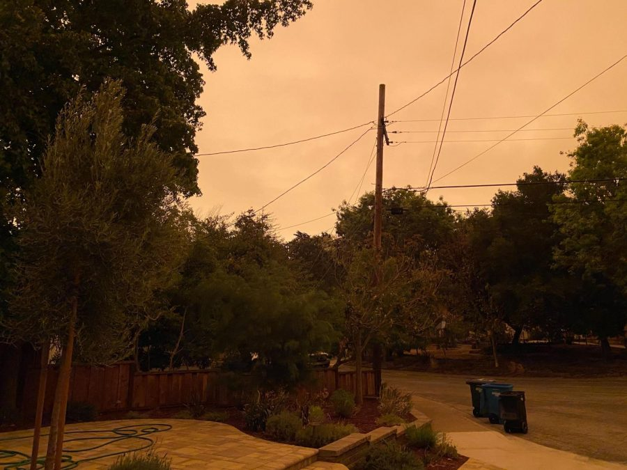 Across the Bay Area, fires painted the sky a rainbow of unusual reds, oranges, and yellows.