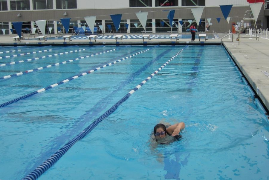 The Olympic pool at SMAC is available for those who make an appointment ahead of time. According to the SMAC website, members using the pool may experience higher chlorine levels in alignment with U.S. swimming recommendations.