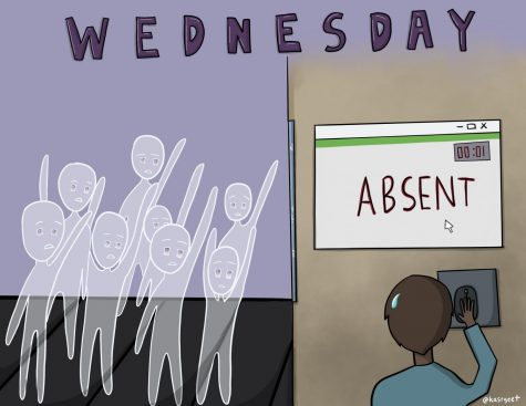 Students and teachers stress over correctly logging Wednesday attendance.