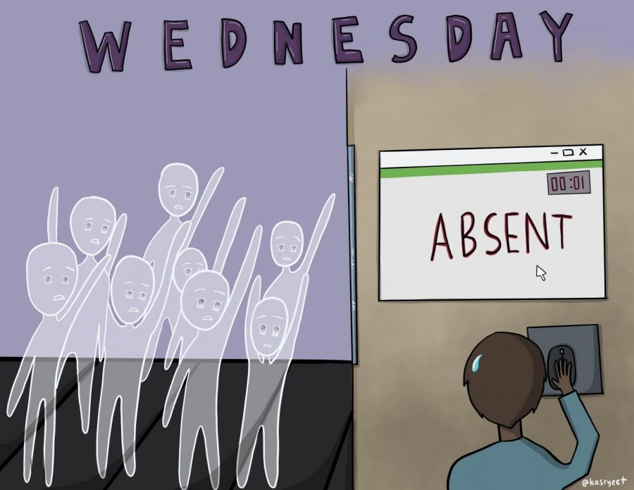 Cartoon: The Anxiety over Accidental Absences
