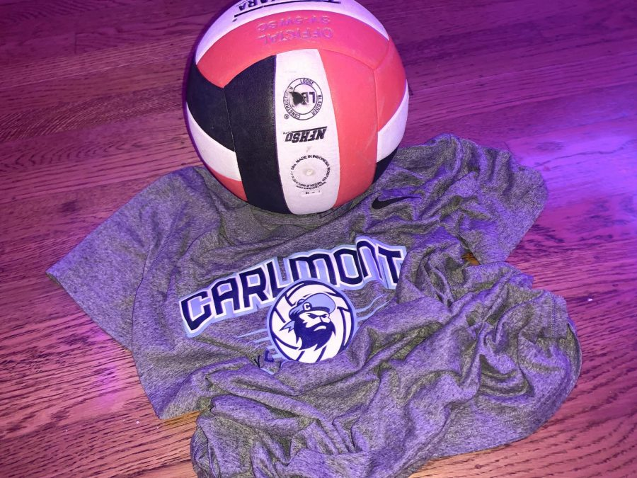 Girls volleyball gear collects dust as the season struggles to find its place in the school year.