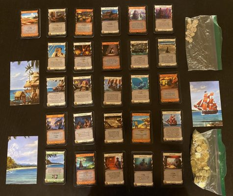All of the cards and components from Dominion Seaside.