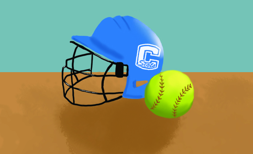 Though+COVID-19+has+affected+all+aspects+of+Carlmont+sports+training%2C+the+varsity+softball+team+has+persevered+in+their+fall+training+season.+