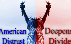 The distrust of many Americans continuously deepens the political divide noticed by many in the country.