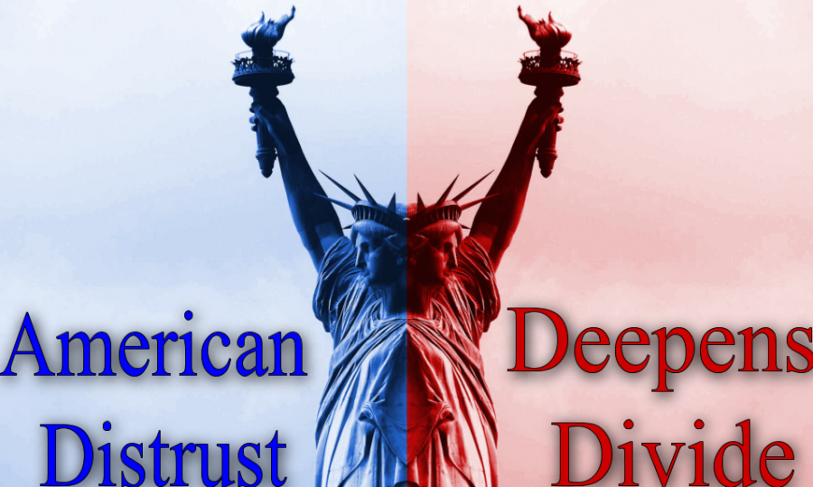 The+distrust+of+many+Americans+continuously+deepens+the+political+divide+noticed+by+many+in+the+country.