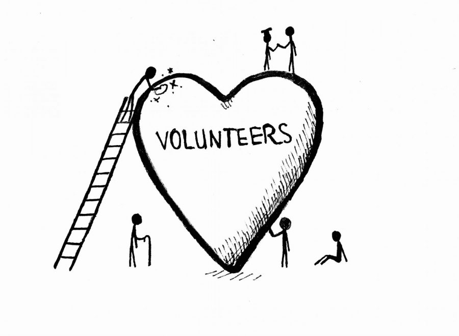 Volunteering is rewarding to both health and the furthering of a career.