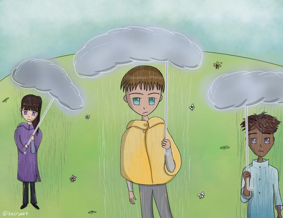 Like the recent abundance of rain, many also isolate and shadow themselves in their own emotional rain.