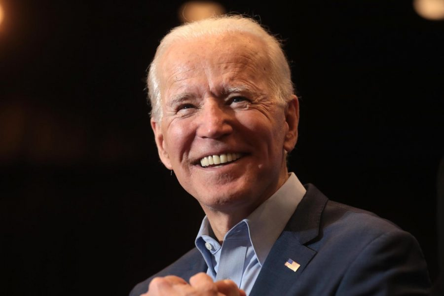 President Joe Biden is speaking with supporters at an event in Sun City MacDonald Ranch in Henderson, Nevada.