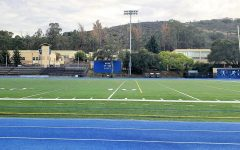 The Carlmont field remains empty and unused as the school year moves forward.