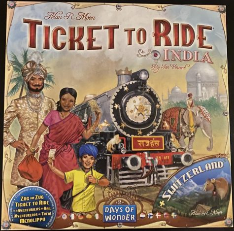Ticket to Ride: India and Switzerland provides Ticket to Ride fans with two new maps, each with a few special rules.