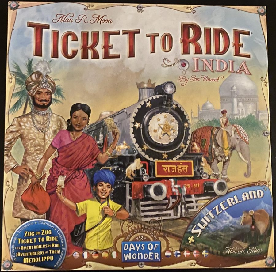 Board Game Reviews: Ticket to Ride India and Switzerland