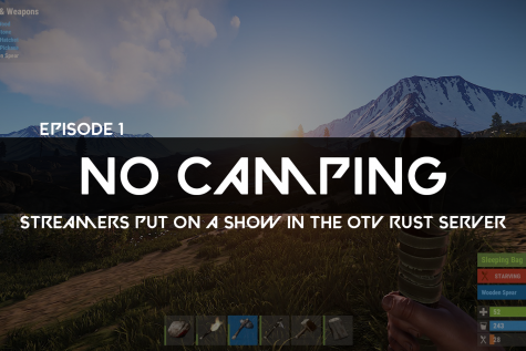 A rust player explores the map.