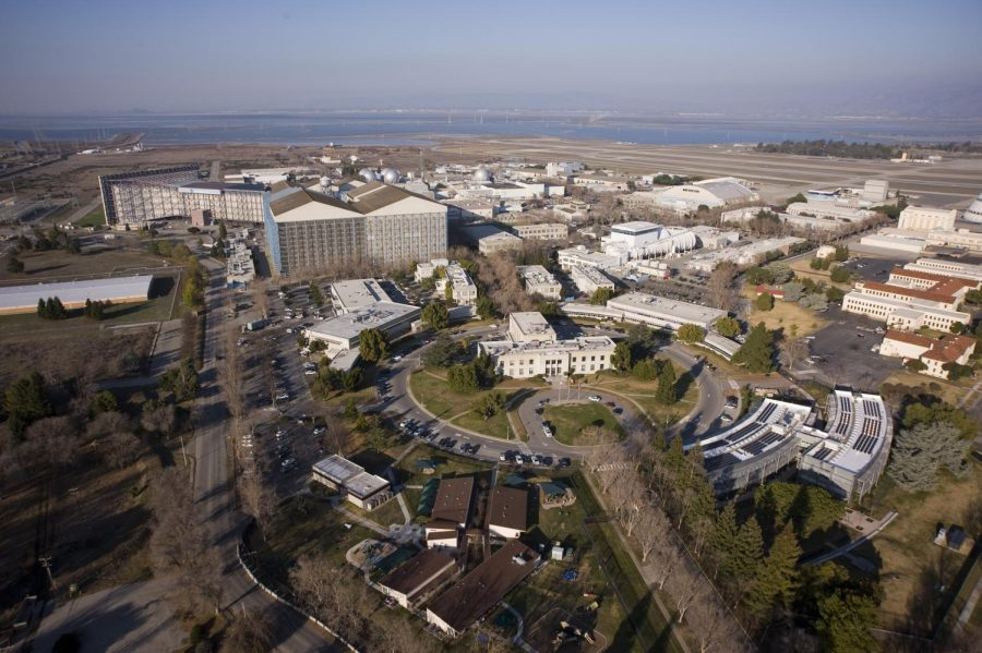 The NASA Ames Research Center in Silicon Valley is surrounded by a security fence and has several security checkpoints.