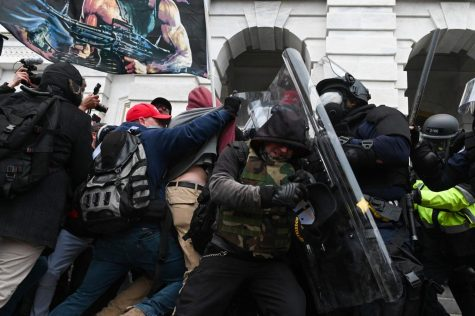Rioters stormed the capitol on Jan. 6.