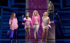 Gretchen (Ashley Park), Regina (Taylor Louderman), and Karen (Kate Rockwell) take Cady (Erika Henningsen) to the mall while Janis (Barrett Wilbert Weed) warns her of the dangers of the plastics.