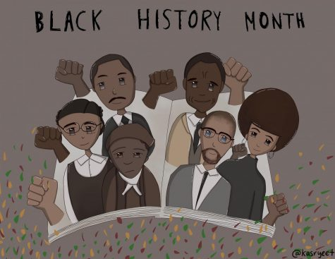 Black History Month is an annual celebration of Black Americans and their achievements. A few of these figures include Rosa Parks, Martin Luther King Jr., Harriet Tubman, James Baldwin, Angela Davis, and Malcolm X, who are revered for their prominent activism in society.