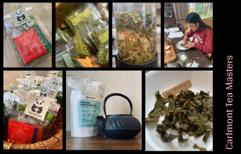 "Before joining the club, each member receives a tea bag kit with different flavors. ""We packaged up these little bags, and the loose leaf tea we got from ITO EN, and we put them into little tea bags. Then we put the other tea bags and the matcha in there,"" George said."