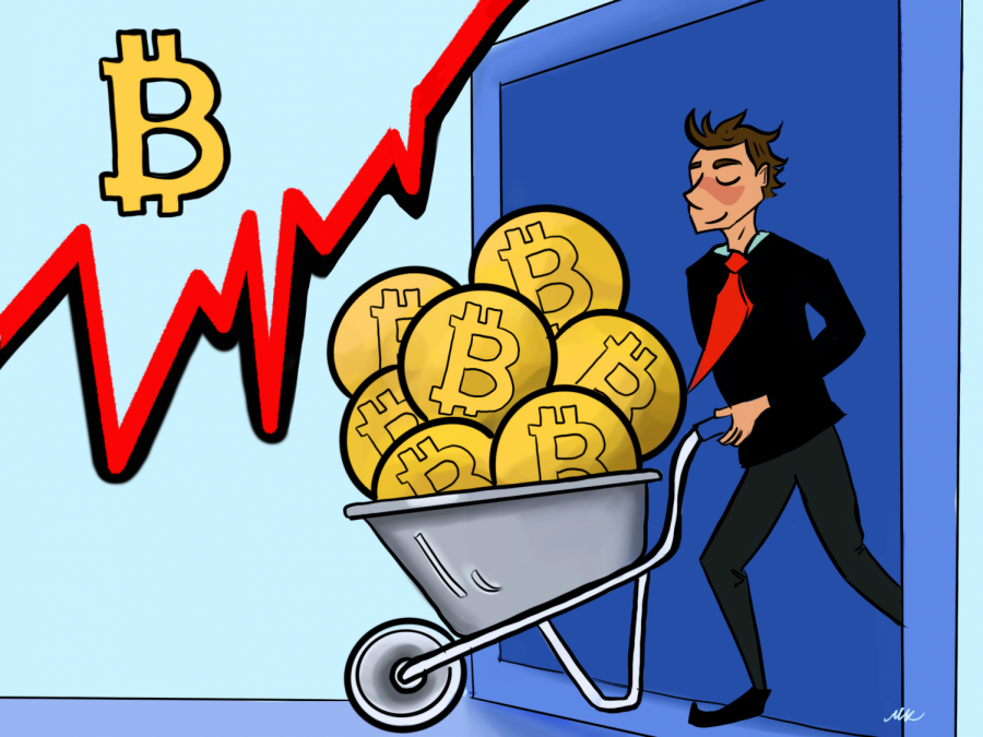 Bitcoin prices skyrocket