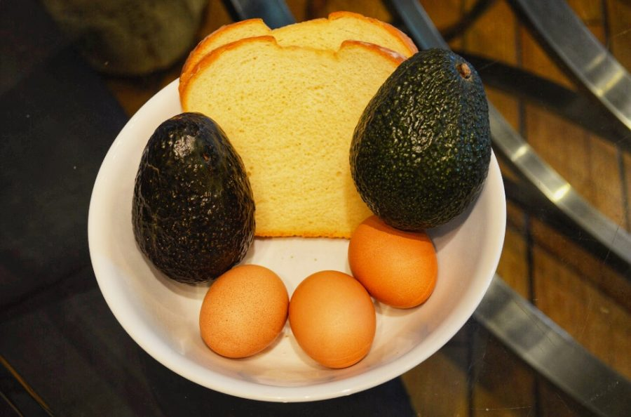 Instead of eating a bowl of cereal, it is better to eat two whole avocados, three whole eggs, and two slices of bread with butter or some other fat/protein. Maliya Anderson, captain of the JV Carlmont Cheer team, said,