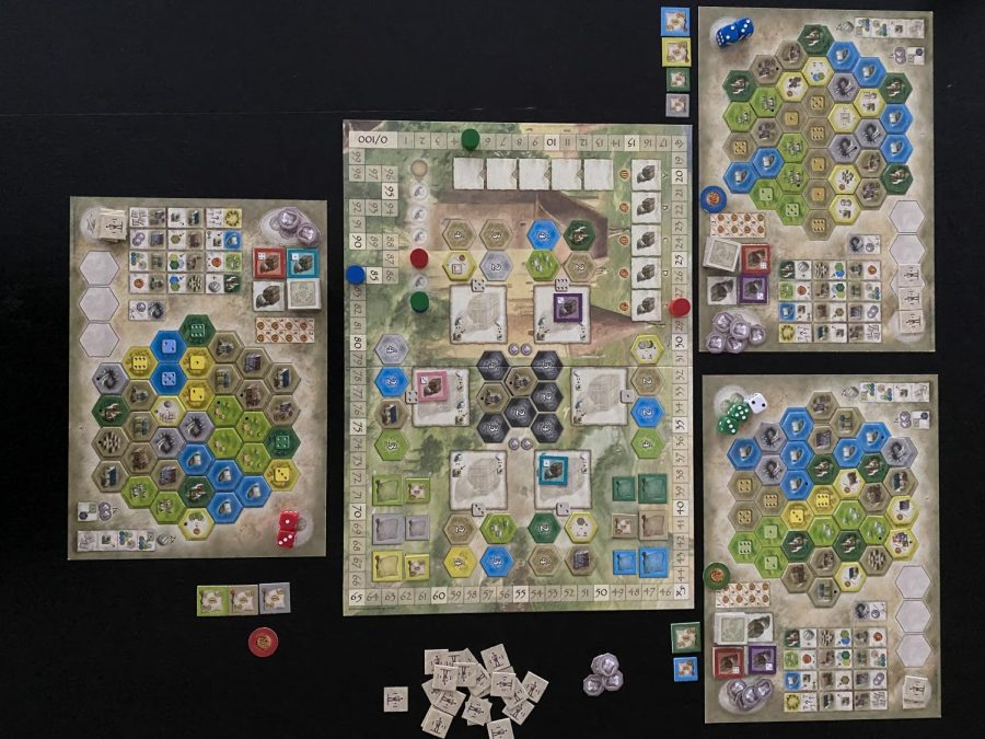 Board Game Reviews: The Castles of Burgundy