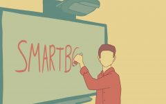 Interactive whiteboards began gaining popularity in the late 1990s. One of the leading companies was SMART Technologies, which created the SMART Board.