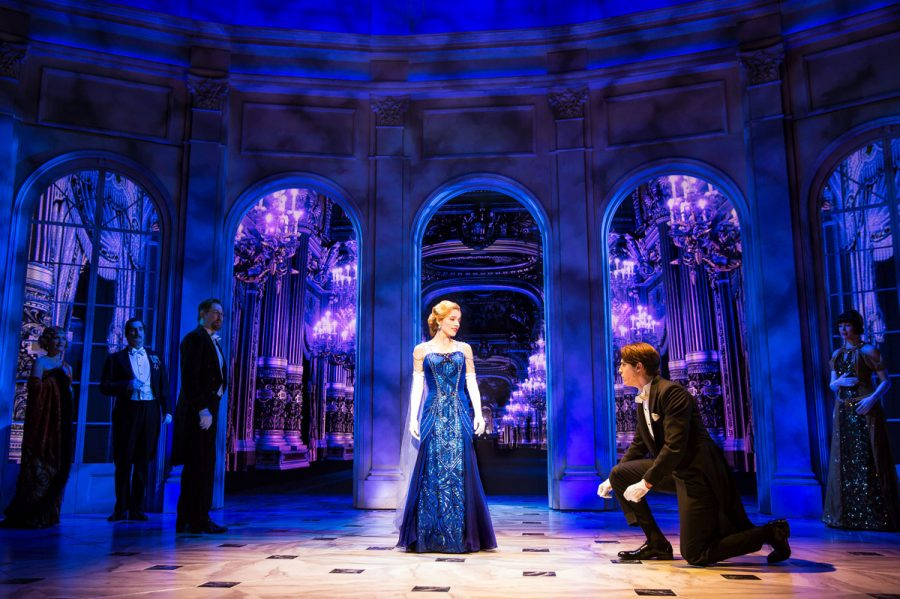 The+long+lost+princess+Anastasia+%28Christy+Altomare%29+makes+her+grand+re-entrance+into+royal+life+on+the+Broadway+stage.