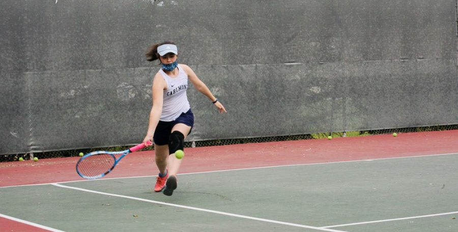 Scots tennis dominates Woodside