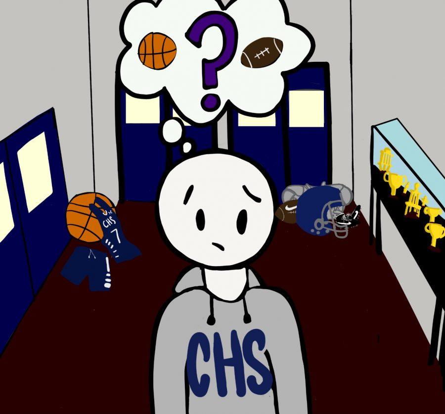 Cartoon: Addled Athletes