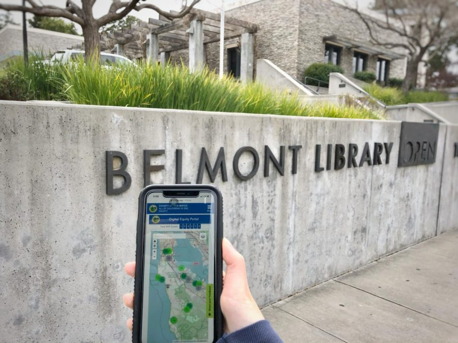 Public Wi-Fi is available at the Belmont Library, one of San Mateo Countys libraries. With its proximity to schools in the area, the Belmont Library serves as a convenient location for students to access the internet.