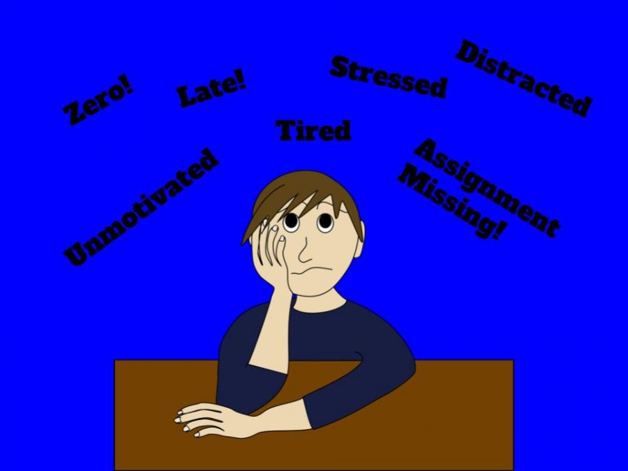 A variety of internal and external factors can prevent a student from completing their work.