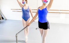 Dancers continue to work hard at their sport, as they follow COVID-19 guidelines.