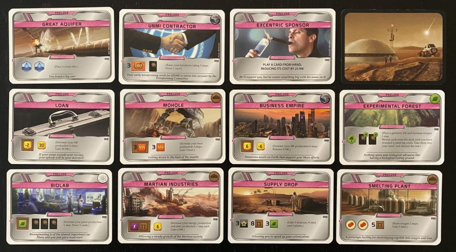 Board Game Reviews: Terraforming Mars Prelude