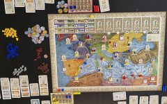 Concordia is an economic set collection and engine-building game designed by Mac Gerdts and published by Rio Grande Games.
