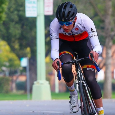 Quinn Felton, a young bicyclist, reflects on his passion for cycling and goals for the future.