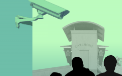 Among the duties of campus security, reviewing surveillance camera footage is one of many.