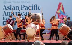 San Francisco kicks off Asian American and Pacific Islander (AAPI) Heritage Month celebrations in Japantown with a series of performances and speeches.