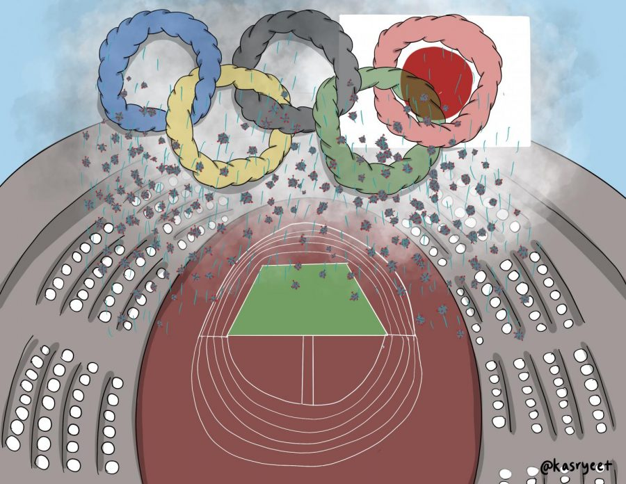 The Tokyo Olympics, which are planned to start in July, would put athletes, the audience, and Japanese civilians in danger due to the ongoing COVID-19 pandemic.