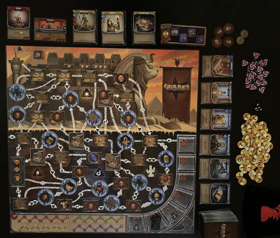 Board Game Reviews: Clank! The Mummy's Curse