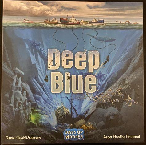 Deep Blue is a big adventure game from Days of Wonder, designed by Daniel Skjold Pedersen and Asger Harding Granerud.